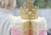 Princess and knight birthday party