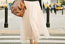 Maxi skirt, maxi dress