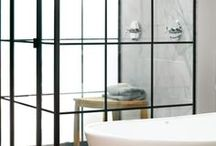 bathrooms / by Sherry Hart @ Design Indulgence