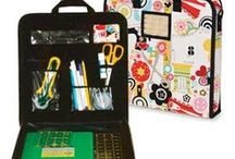 Sewing Organizers / Various items to help keep craft & sewing supplies organized.