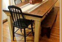 make our own kitchen table