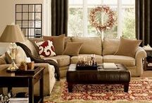 Family room ideas / by Lindsey Parsons Maiolino