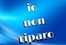 #iononriparo / www.iononriparo.it Campagna di informazione contro le PsicoTerapie Riparative: un Essere Umano non è una macchina guasta, gli orientamenti sessuali non sono un errore da correggere. / by Dr Ivan Ferrero - Digital Psychologist