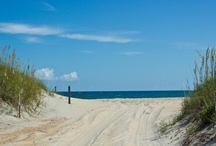 CAPE HATTERAS, NC / Cape Hatteras National Seashore - the barrier reef at the end of the Outer Banks of North Carolina