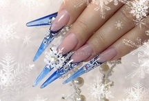 Winter Wonderland/Christmas Nails