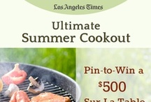 Ultimate Summer Cookout / Pin to win a $500 Sur La Table gift card. To enter visit: latimes.com/ultimatecookout. / by L.A. Times Food