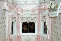 Miniature Curtains
