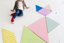 Activities for Kids / These are DIY crafts with action or ideas for activities for kids