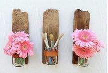Mason jar awesomeness / Creative & practical ways to use mason jars.