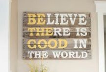 Home Decor / DIY & other home decor items that I love.