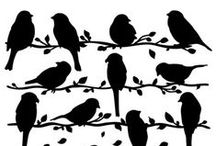 Silhouettes / Silhouettes / by Debbie Wright