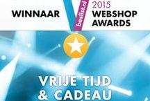 """Winnaar Beslist.nl Webshop Awards / Portecenter is de winnaar van Beslist.nl Webshop Award in de categorie """"Vrije Tijd & Cadeau XL 2015. Hier de foto's!"""