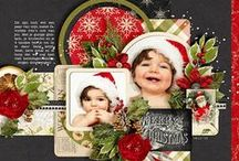 Luscious Christmas Layouts