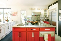 Kitchen and Dining Spaces / pretty places to prep and eat.  / by Rachel Dorfman