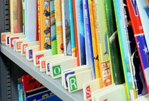 Ideas for Storing Children's Books / Tips for organizing books in your home or classroom