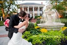 Our Southern Glam Wedding / We were married at Victoria Belle Mansion in Hogansville, Georgia