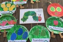 Eric Carle Activities / activities and ideas for Eric Carle books (Very Hungry Caterpillar party, puppets, and more)