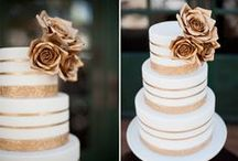Sweet Treats & Wedding Cakes / Wedding Cakes designs and ideas / by White Orchid Weddings