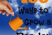 Growing Book by Book / Reading activities, writing activities, book lists, reading tips and writing tips from my blog, Growing Book by Book!  Visit http://growingbookbybook.com for even more ideas!