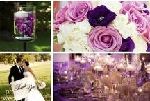 WOWedding - Purple & Silver Sparkle / Purple & Silver wedding theme / by White Orchid Weddings