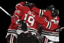 hockey / (Mostly the Chicago Blackhawks) / by Marissa Honeyman