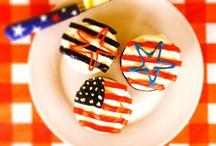 Stars & Stripes / America The Beautiful.   / by Caroline's Cakes