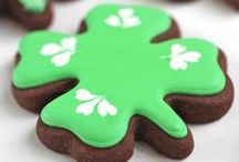 Pinch Me    / Saint Patrick's Day Goodies / by Caroline's Cakes