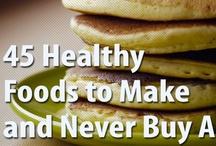 Healthier Eats / by Allison (Allie) Kenny