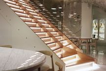 STAIRS DESIGN | STAIRCASE | DESIGN INSPIRATIONS / all about stairs, materials, finishes, design for residential and commercial use