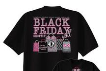 It's Black Friday, Y'all! / Keep track of your shoppers on Black Friday with our Black Friday, Y'all t-shirts! / by UnderTheCarolinaMoon