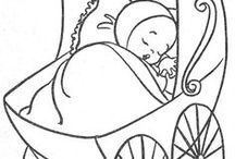 Simply Cute Coloring Pages / by Sarah Bindrup