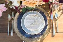 Navy Wedding Inspirations / by White Orchid Weddings