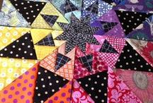 Mini Quilts, mug rugs and table runners.