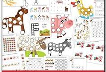 Homeschool - Dot Marker Printables / by Rebekah Schrepfer