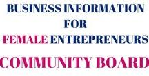 Business Information for Female Entrepreneurs / This board is to provide female entrepreneurs with valuable business building resources for their online business. As long as it's about business building you can post it. Share content you've created + any tips and resources you find online if they're helpful. RULES: 1.) Don't spam this board 2.) Pin only business building content. 3.) If you want to post to this board, send me a message or an email -->kerry@kerryanningram.com -- Thanks!