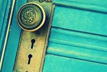 doors and doorknobs