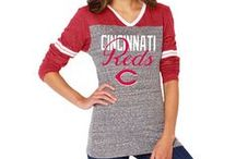 Cincinnati Reds Women's Apparel / What all the well-dressed Reds fans are wearing this season. reds.com/shop