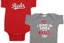 """Reds Children's Apparel / The best way to gain a #Reds fan for life is to """"Start em' off Red"""" with this collection of apparel, accessories, and toys."""