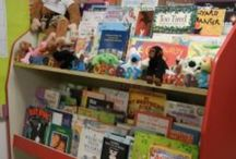 School: RELA-Classroom Library Ideas / by Valerie F