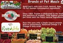 """Brands Available at Pet Meals! / All of our products are ordered fresh every week for personal delivery to your home! We want to let you know about our """"Refer A Friend"""" program....If you refer Pet Meals to a friend/neighbor/family member, they need to let us know when they place their first order and they will receive 10% off of that order and YOU will receive 10% off your next order! We also ship to almost everywhere in the US!  Write to us at info@petmealsonwheels.com anytime!"""