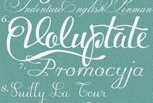 Font, design & blog love