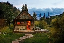 Cottages, Cabins & Outdoor Living / by Pamela Chauvin-Trahan