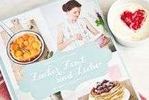 Saying thanks to all my blogger friends for supporting me and my cookbook <3 / by Zuckerzimtundliebe Jeanny