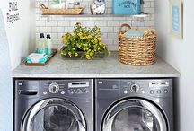 Laundry room makeover / by Jana Cress Miller