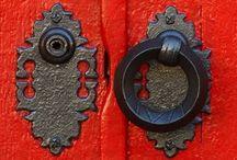 Door to door / Doorways that are pretty and interesting / by Jana Cress Miller