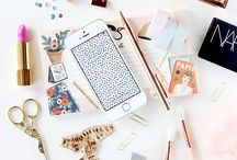 Flawless Flatlays / Beautiful flat lays for Instagram and blog photo inspirations.