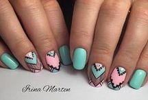 Nail Art / Beautiful and creative nail art ideas and tutorials
