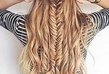 Hair Styles I'll Never Achieve / Beautiful hairstyles I'll never achieve as I'm terrible at hair. Braids, plaits, up does, curls. I have a thing for red hair.