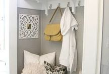 Mudroom / Great tips for creating a functional, organized mudroom.