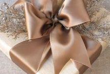 Weihnachten - Bronze & Kupfer / Dekorationsideen, Accessoires und natürlich Weihnachtskarten in Bronze und Kupfer!